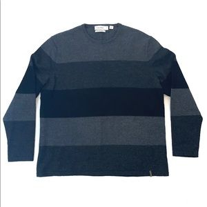 Cabin Klein Striped Sweater Size XL